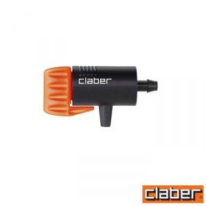 Claber Gocciolatore Fine Linea  - 91213 - Regolabile 0-6 L/H (Conf 40Pz)