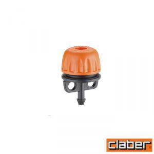 Claber Gocciolatore Fine Linea  - 91225 - Regolabil 0-40L/H (Conf 10 Pz)