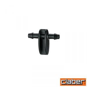 """Claber Raccordo Tubo Capillare Dritto  - 91155 - 1/4"""" (Conf 10Pz)"""