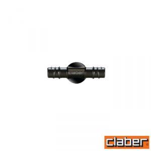 """Claber Raccordo Tubo Collettore Dritto   - 91076 - 1/2"""" - (Conf 4 Pz)"""