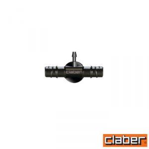 """Claber Raccordo Tubo Collettore """"T""""  - 91073- 1/2""""/Capill 1/4"""" (Conf 2Pz)"""