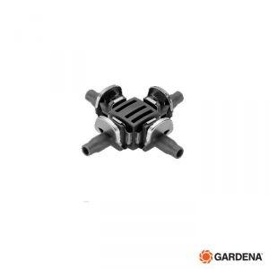 Gardena Raccordo Capillare a 4 Vie  - 8334 - (Conf   10 Pz)