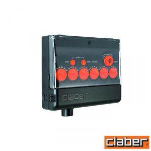 Claber Centralina  - 8058 - Multipla 6 Zone Ac 220/24V Lcd