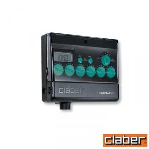 Claber Centralina  - 8060 - Multipla 6 Zone Dc 9V Lcd