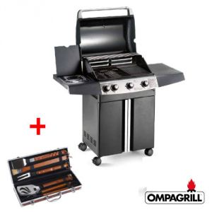 Barbecue Ompagrill - Gas Expert 4 + Valigetta Set Barbecue