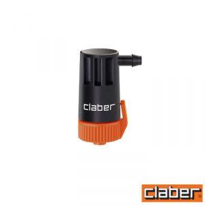 Claber Gocciolatore Fine Linea  - 91214 - Regolabile 0-10 L/H (Conf 10Pz)