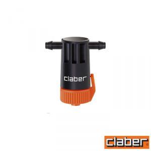 Claber Gocciolatore In Linea  - 91218 - Regolabile 0-10 L/H (Conf 10Pz)