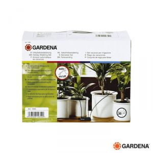 Gardena Kit Microirrigazione Vasi  - 1265 - 36 Vasi per  Interni