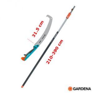 Gardena Seghetto ad Uncino  con Asta Telescopica  - 210-390 cm
