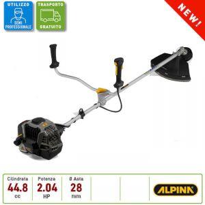 Decespugliatore a Scoppio Professionale Alpina ABR 45 D,  Motore da 44,8 cc , Impugnatura a Manubrio